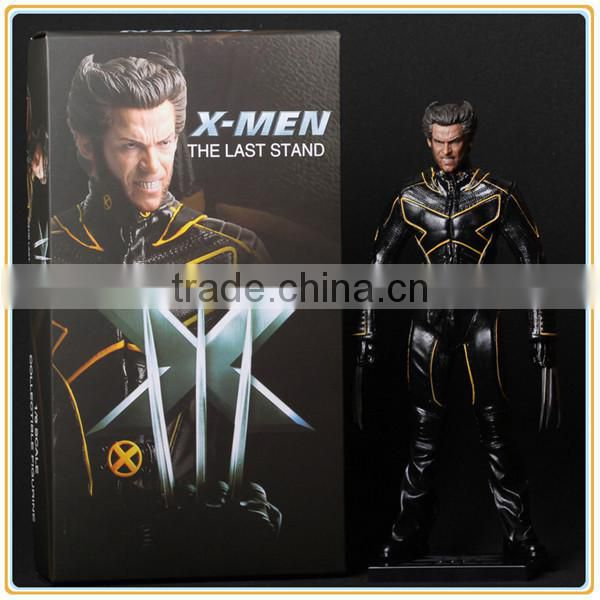 Customized 12inches x men comics, x men cartoon, x men toys