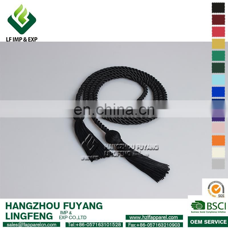 Graduation Honor Cord-Black
