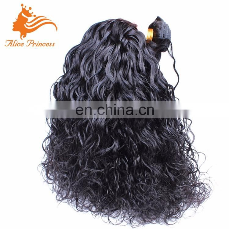 Wholesale Hair Bundles Water Wave Style Different Types Of Curly Weave Hair Weft Virgin Peruvian Hair Bundles For Black Women