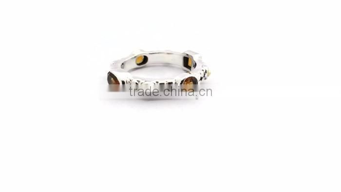 925 Sterling Silver Gemstone Ring