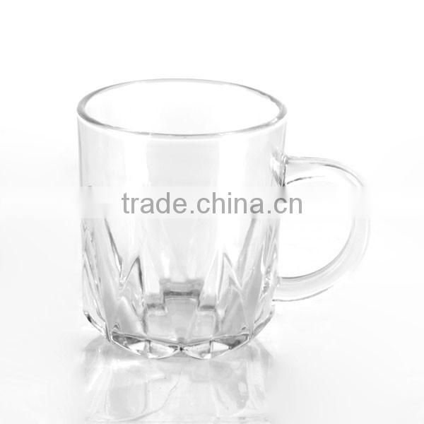 Mintao KB7437 Machine made clear mini turkish tea glass