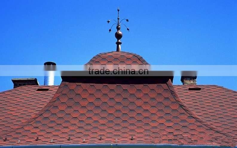 Castle villa church apartment building roof Waterproofing and insulation cheap asphalt shingles
