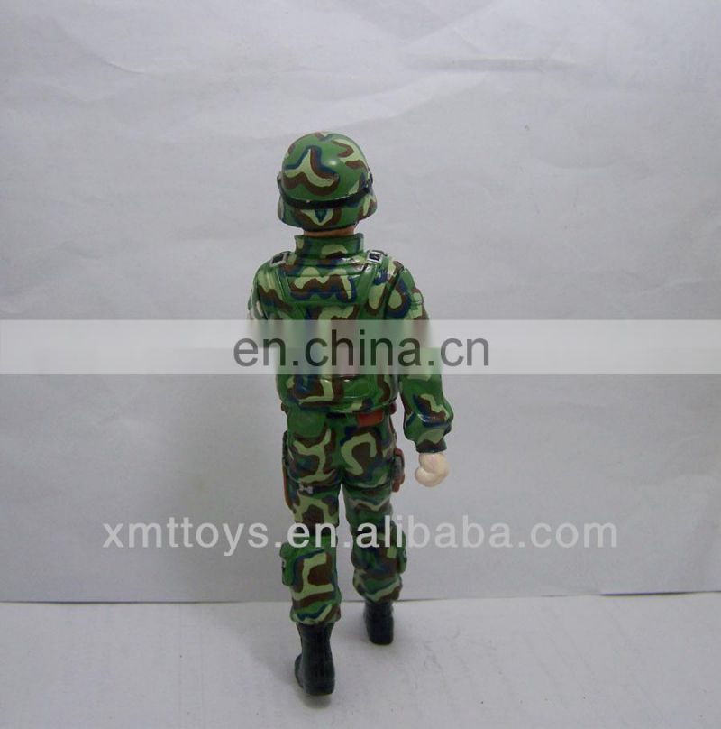 handsome resin soldier home decor