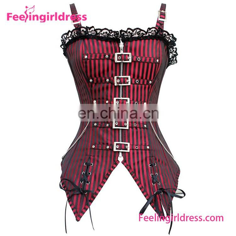 Sexy Lady Black Mature Corset In China