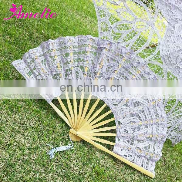 Hot Sale Handmade Cotton Vintage Hand Fan