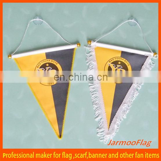 Cheap Custom car pennant flag