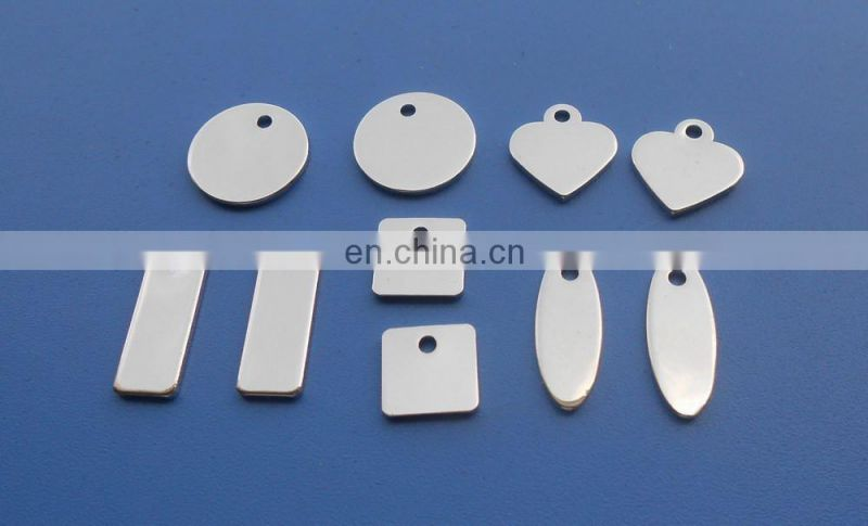 customized round shaped engraved jewelry slider beads