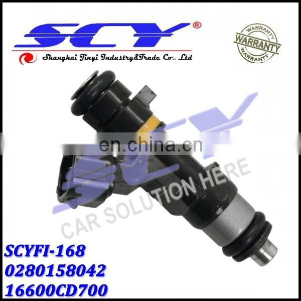 Fuel Injectors For 05-07 Nissan FX35 M35 G35 V6 3.5L 0280158042 16600CD700