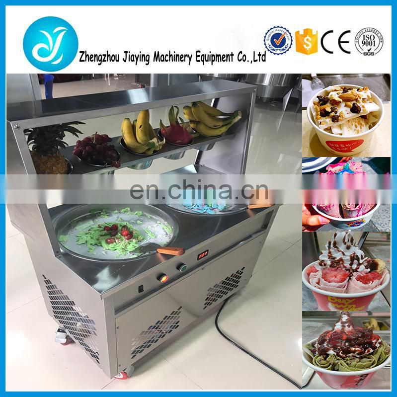 Food grade 304 stainless steel ice cream fried making machine