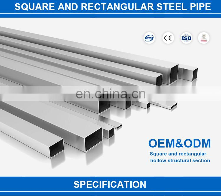 15x15 Steel and rectangular steel gi square pipe for sale
