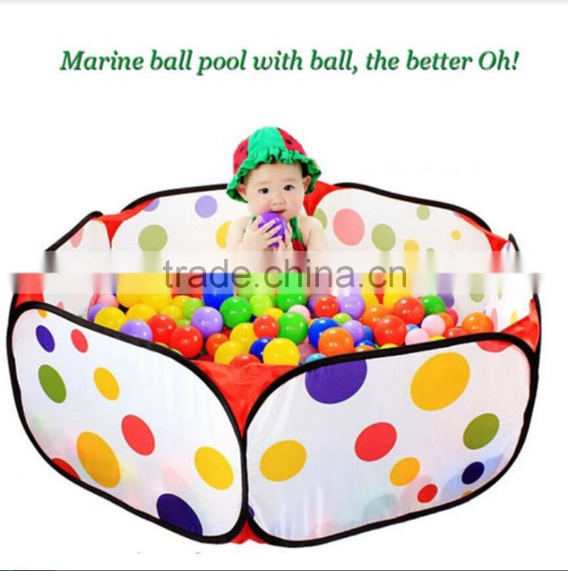 Colorful Safety Soft Plastic Playing Ocean Ball Baby Kid Swim Bath Gift Toy