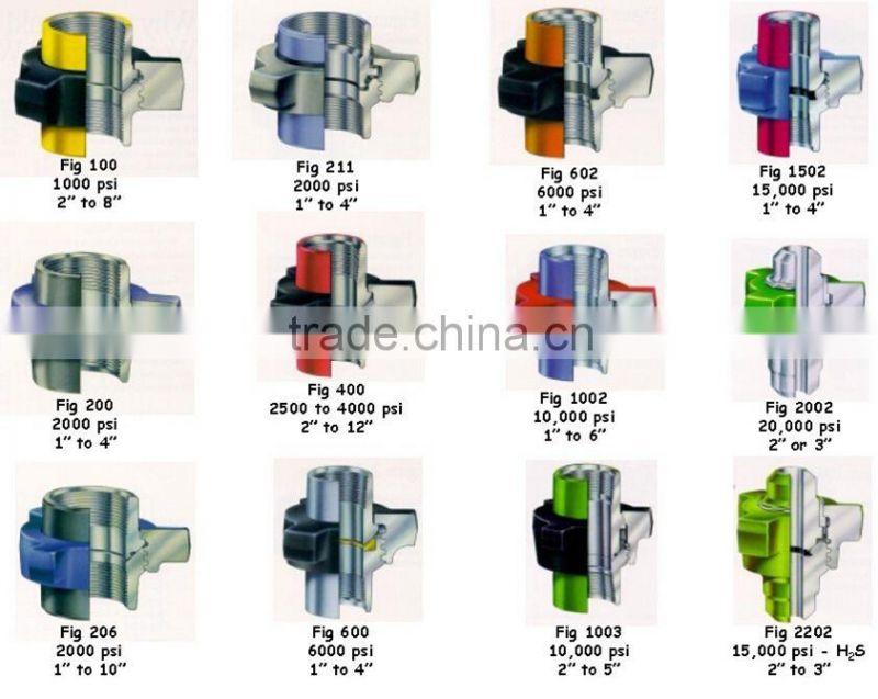 Weco hammer union catalog