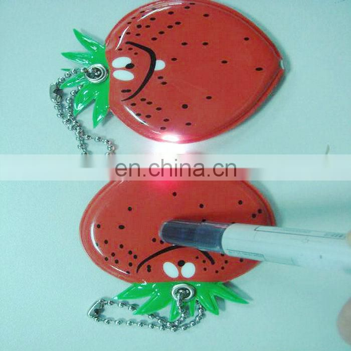Fashion PVC Rubber LED Key holder