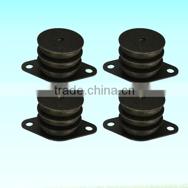 compressor parts vibration isolation pad/crash roll in air compressor anti-vibration pad