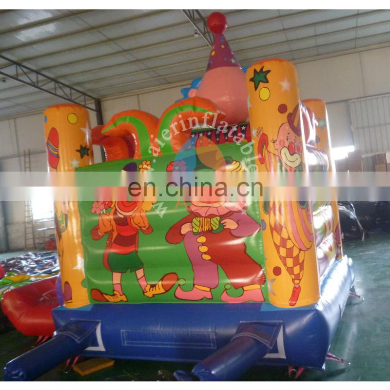 Hot inflatable clown bouncer for sale / inflatable bouncer castle / mini inflatable bouncy castle for sale