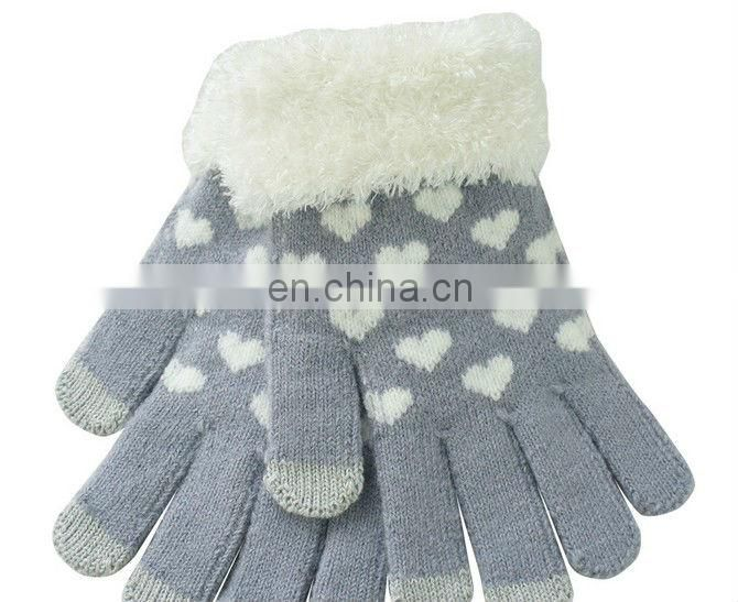 Star Touch knitted gloves Magic Mitten Soft Warmer Gloves for Men