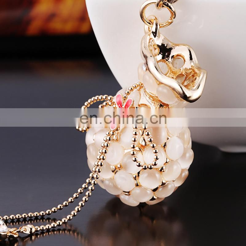 Beautiful Purse Rhinestone Keyring