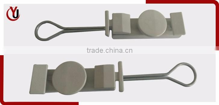 plastic drop wire clamps for FTTH cabling accessories