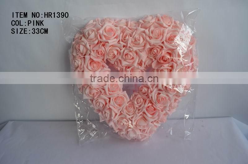 wedding decoration artificial rose real flower ball wholesale hanging decorative flower ball centerpiece