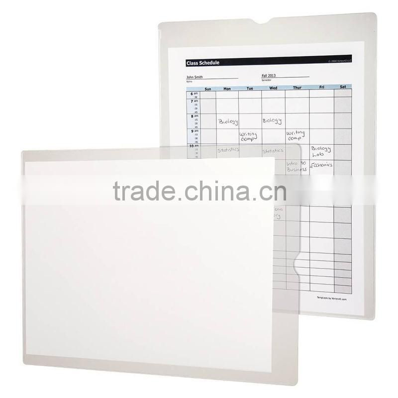 Clear Plastic Travel Document Holder