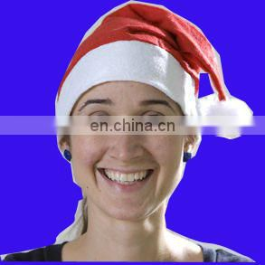 Purple santa hat supplier christmas hat xmas hat christmas vendor