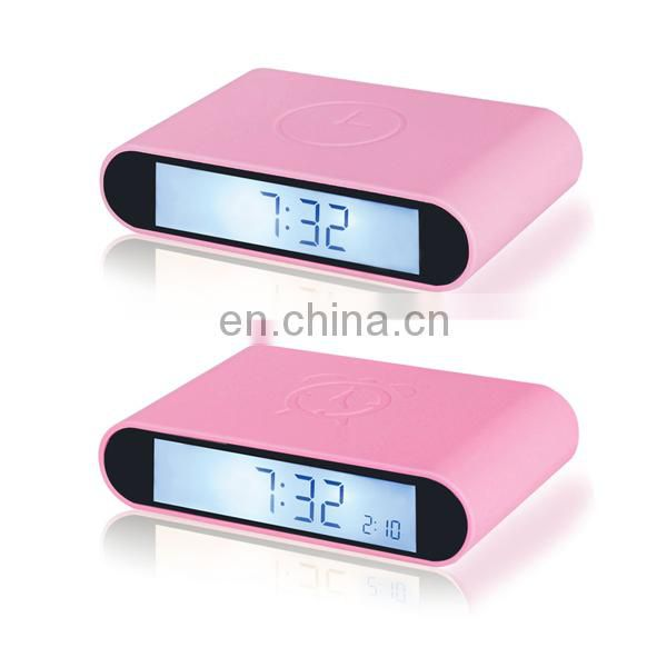 Hot sale new design Hobby Printing plastic clock for promotional gift
