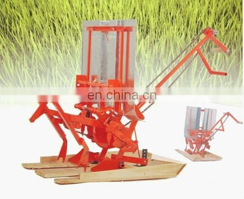 2 rows hand rice planting machine and prices for manual rice planting machine