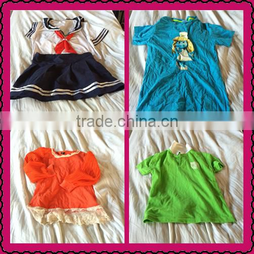 China supplier best quality used baby cotton mix summer wear used clothing