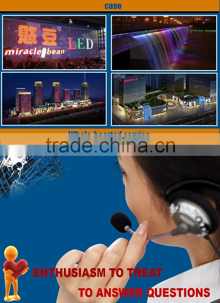 CE RoHS Outdoor p9813 led pixel Light for party decoration for amusement rides