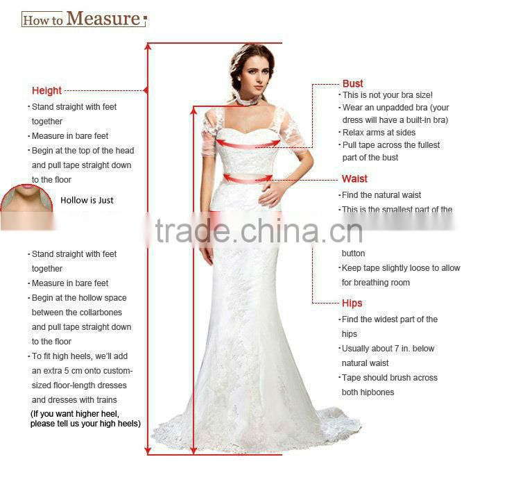 Gold embroidered floor length bandage wedding dress /ball gown