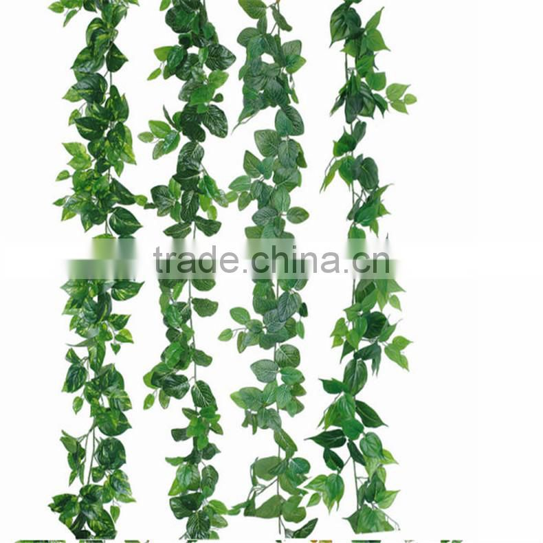 SJZJN 2595 Beautiful design Colourful Leaves,Wall Decorative Leaves On Sale