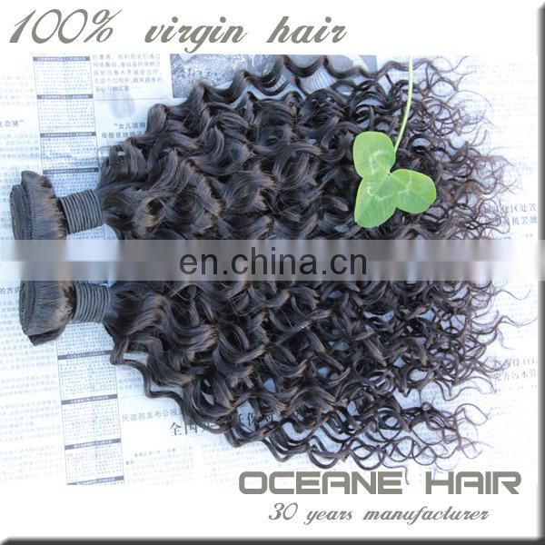 2014 new arrival most fashionable large stock top grade wholesale supply kinky curly human hair weave