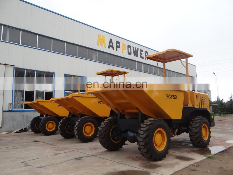 5 Ton Cheap Front Loading Dump Trucks For Sale with factory price