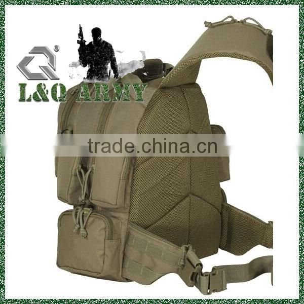 2015 wholesale cheap price Nylon tacticle travel swiss army sling bag