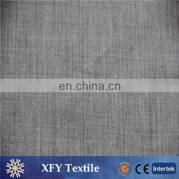 XFY grey melange dyeing polyester viscose fabric