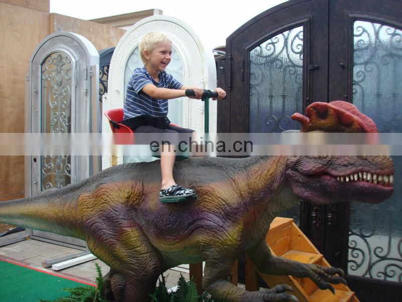 2016 Silicon rubber dinosaur costume for theme park