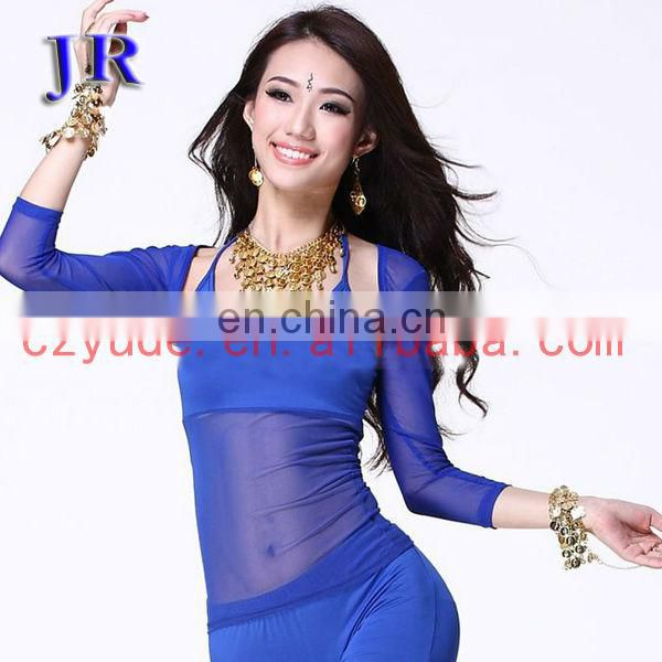 High elastic egyptian sexy women belly dance camisole S-3025#