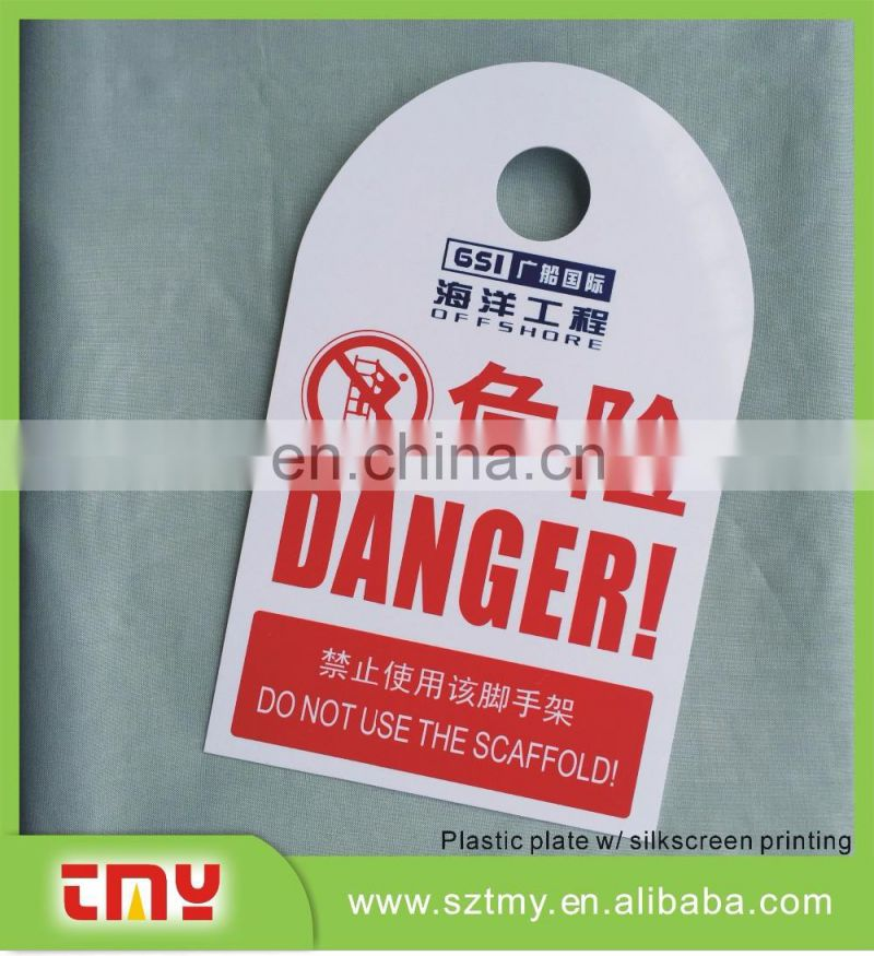 Free sample! warning sign,safety sign,Lockout Checkout plastic PVC Tags
