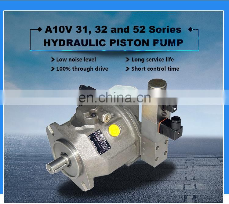 The large hydraulic oil pump for construction machinery