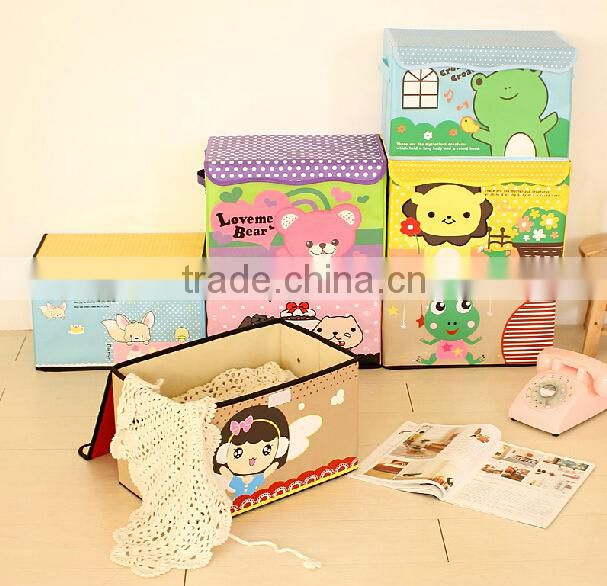 All Kinds of Canvas Storage Box/ Mutiple Cartoon Organizer