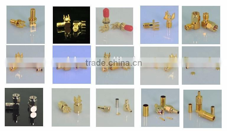 competitive price shenzhen connectors manufacturer N female to N female coupler converter