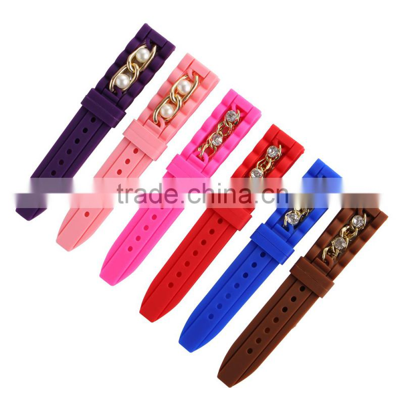 Free Sample Latest Silicone Watchband