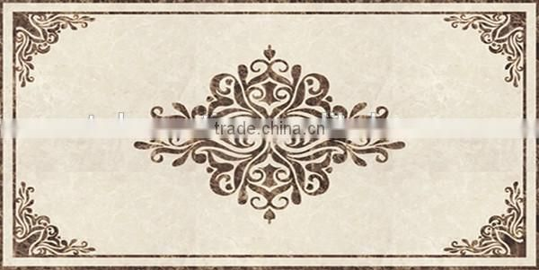Luxury europe waterjet marble foyer medallion floor NTMS-MM018A