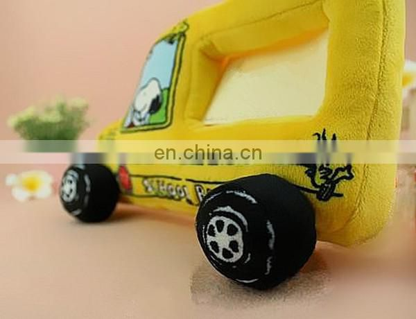 cartoon yellow peanuts snoopy car plush stuff toys photo frame