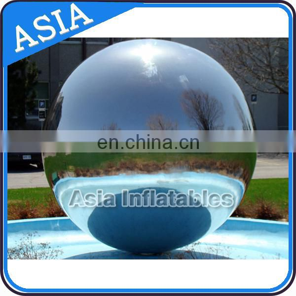 Full color Large Mirrorr Inflatable Advertising Balloons Ornaments Durable