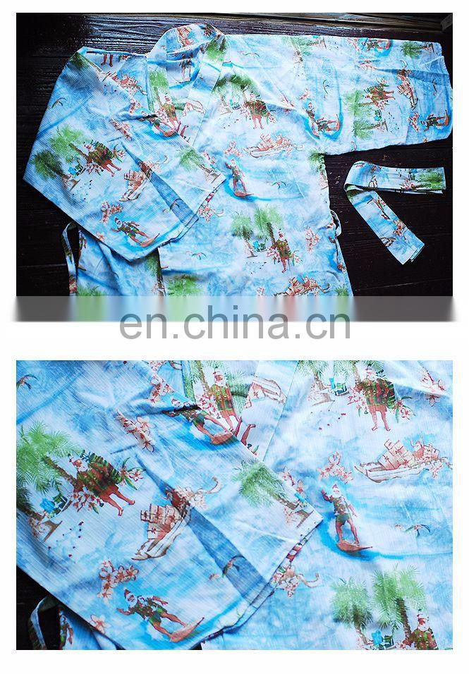 Chinavictor Summer Wear 100% Cotton Hot Sex Girl Adult Free Size Japan Pajamas