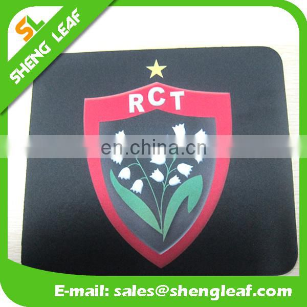 2016 customized promotional rubber mouse pad for sale