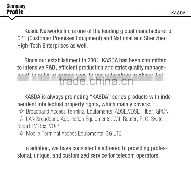 Kasda KW52283A 802 11n 300M Wireless VDSL2 Modem Router
