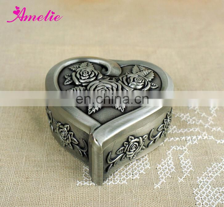 A2127 Wholesale Fashion With Rose Flower Jewelry Gift Box Unique