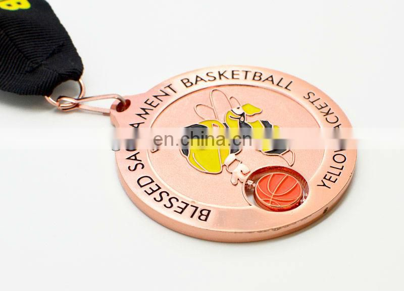 Custom design sports medal trophies awards